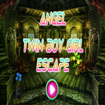 Angel Twin Boy Girl Escap…