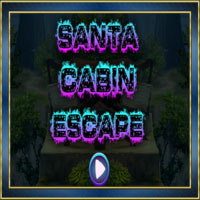 Santa Cabin Escape Walkth…
